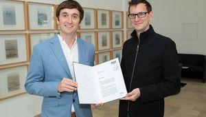 From left: Oliver Roche-Newton, Christoph Lindinger