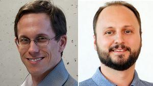von links: Rick Rabiser, Martin Kaltenbrunner