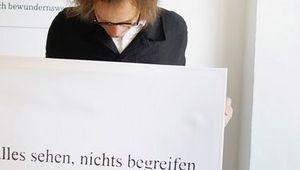 """Norbert Trawöger """"alles sehen nichts begreifen"""""""