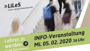 Info Tag fürs Lehramt Sekundarstufe am 5.2.2020.