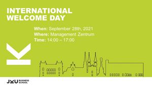 Welcome Day Details