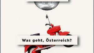 """Buchcover """"Was geht, Österreich?"""""""