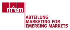 Logo der Abteilung Marketing for Emerging Markets