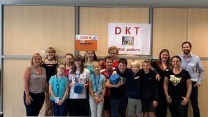 Gruppenfoto Preisverleihung DKT einmal anders