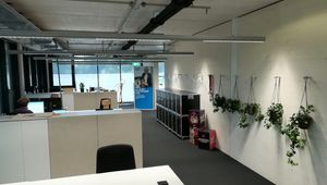 Blick ins Büro des LIT Robopsychology Lab