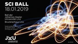 Plakat des JKU Balls 2019