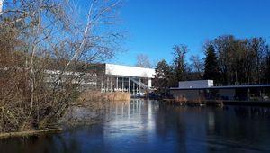 Das JKU Learning Center Anfang Jänner 2020.