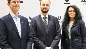 von links: Rick Rabiser, Martin Kaltenbrunner, Alberta Bonanni