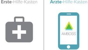 Logo Amboss (Medizinische Lernsoftware)