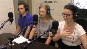 Live-Sendung auf Radio FRO am 27. Juni 2019