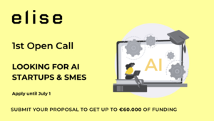 [Translate to Englisch:] ELISE calls out for the best AI startups and SMEs