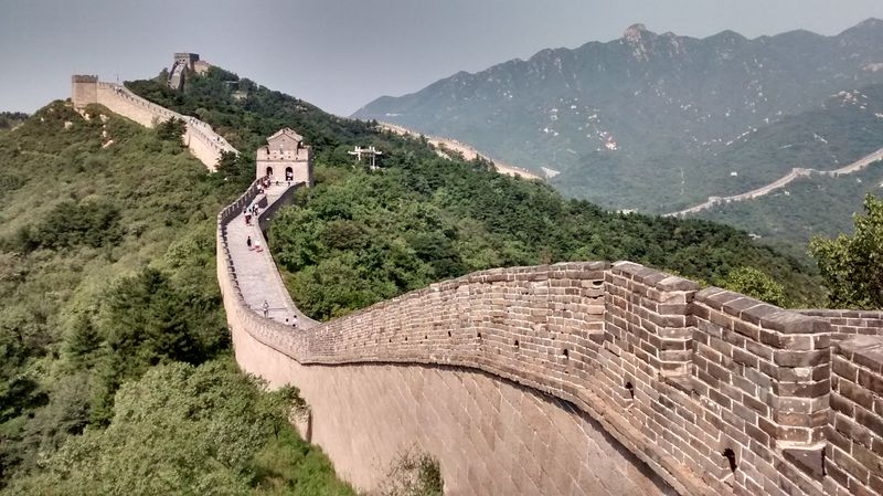 """The Great Wall"" (China), 3. Preis Work Abroad Photo Contest"