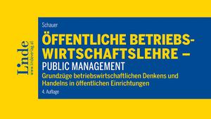 Buchcover Schauer 2019 Öffentliche Betriebswirtschaftslehre - Public Management