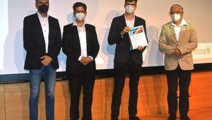Preisverleihung JKU Young Researchers' Award