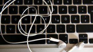 Nahaufnahme Tastatur