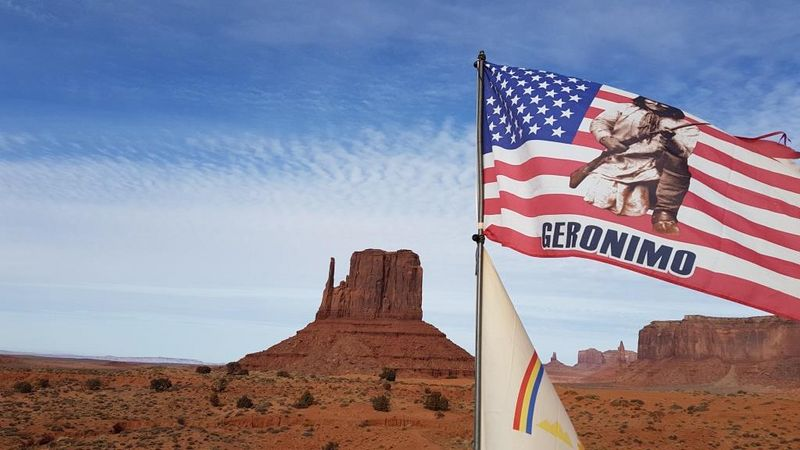 """Geronimo"" (Monument Valley, USA)"