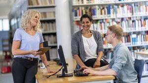 Studierende an der FernUniversität in Hagen
