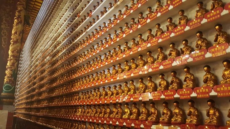 """Ten Thousand Buddhas"" (Hong Kong, China)"