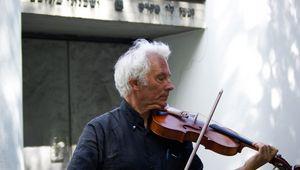 Herwig Strobl mit seiner Violine