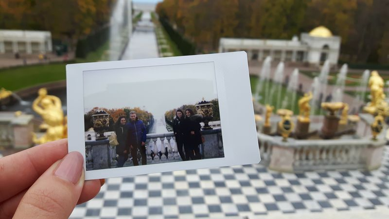 """Peterhof - We are there"" (St. Petersburg, Russia), 1st Price Category ""Student Life, Human Interest, Oddities"""