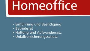 """Cover Praxishandbuch """"Homeoffice"""""""