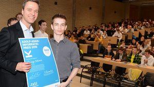 von links: Alfred Hiebl (Firma MIC), Philipp Schwarz
