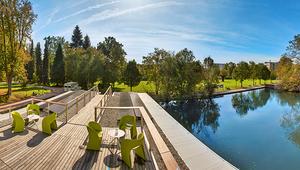 360 Grad JKU Campus Panoramafoto