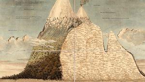 """Bildnachweis: Alexander von Humboldts Naturgemälde der Tropen: Das """"Tableau physique des Andes et pays voisins"""" (1807), Peter H. Raven Library/Missouri Botanical Garden (CC BY-NC-SA 4.0), Biodiversity Heritage Library."""